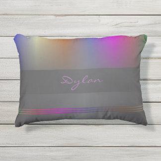 Espectro de color con negro cojín de exterior