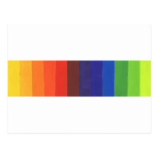 espectro de color postal
