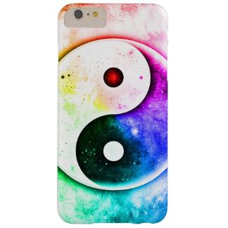 Espectro de Yin Yang de la paz Funda Barely There iPhone 6 Plus