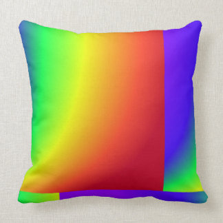 Espectro del arco iris cojín decorativo