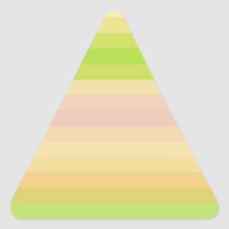 Espectro reconstruido calcomanías triangulos