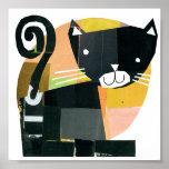 Espectros del gato negro poster