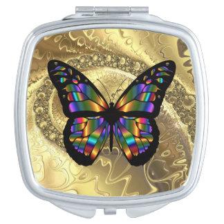 Espejo abstracto elegante del acuerdo del cuadrado espejo para el bolso