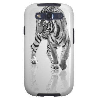 Espejo animal abstracto del tigre samsung galaxy s3 protector