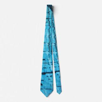 Espejo azul corbatas