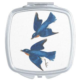 Espejo Compacto Acuerdo del animal de la fauna de los pájaros del