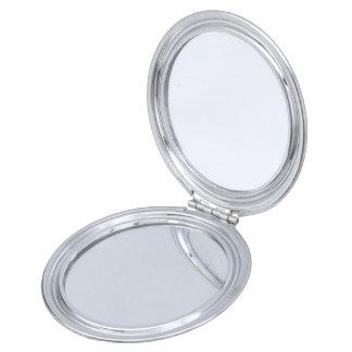 Espejo Compacto Círculos concéntricos #2