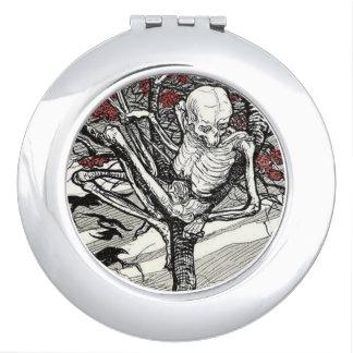Espejo compacto de Der Tod im Baum
