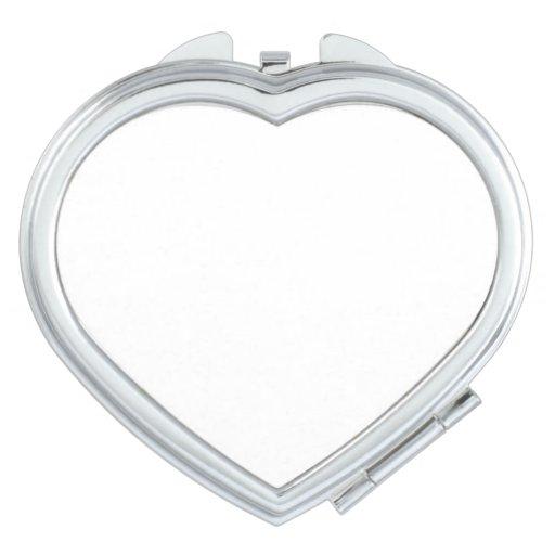 Espejo compacto Corazón