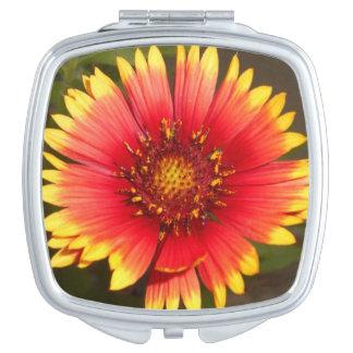 Espejo compacto del Wildflower