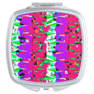 Espejo Compacto Diseño colorido del modelo de la interferencia