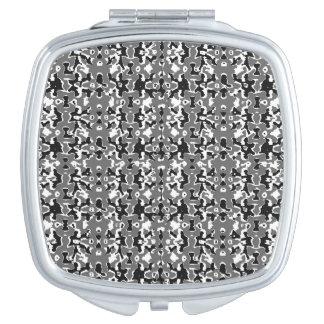 Espejo Compacto Diseño oscuro del estilo de Camo