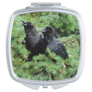 Espejo Compacto Dos cuervos