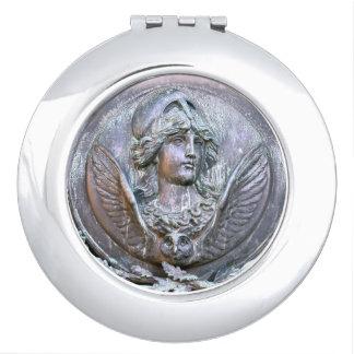 Espejo Compacto Escudo de Athena