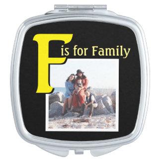 Espejo Compacto F para la familia