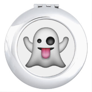 Espejo Compacto Fantasma - Emoji