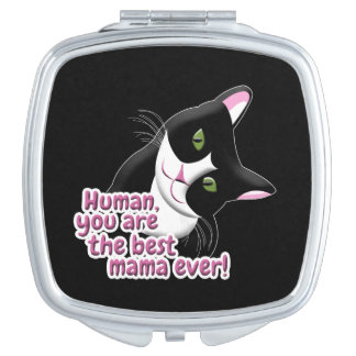 Espejo Compacto Gato del día de madre