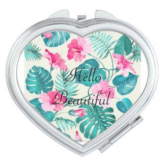 Espejo Compacto Hola hermoso