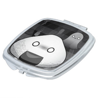 Espejo Compacto Japonés divertido Riceball