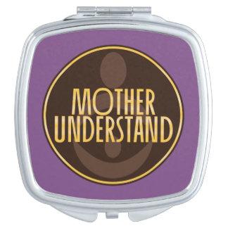 Espejo Compacto La madre entiende