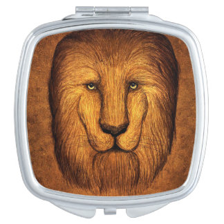 Espejo Compacto León lanudo