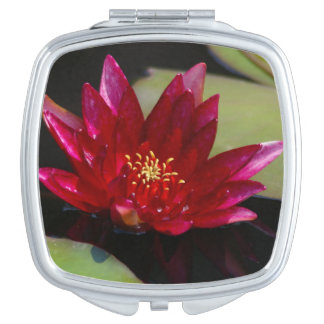Espejo Compacto Lotus magenta Waterlily