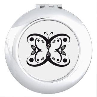 Espejo Compacto Mariposa de Geo