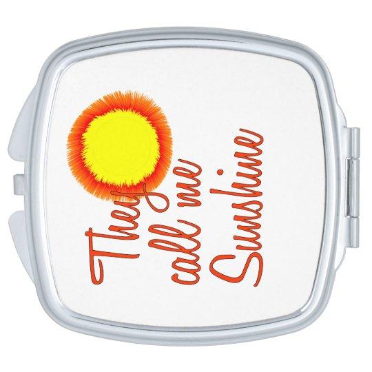 Espejo Compacto Me llaman sol