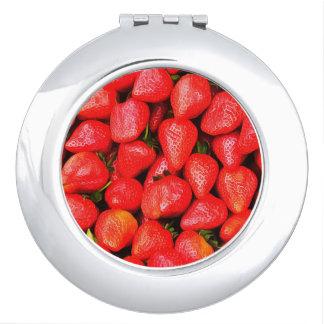Espejo Compacto ¡Muchas fresas!