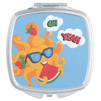 Espejo Compacto ¡Oh! ¡Sí! es tiempo de verano