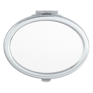 Espejo compacto oval