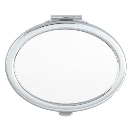 Espejo compacto Ovalado