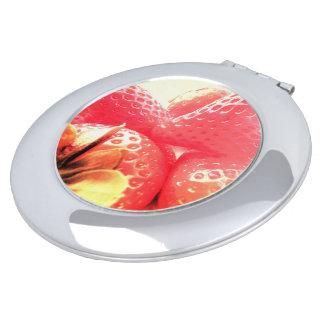 Espejo Compacto Sueño de la fresa