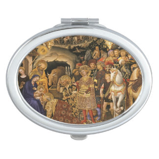 Espejo Compacto Unos de los reyes magos de Adorazione Dei