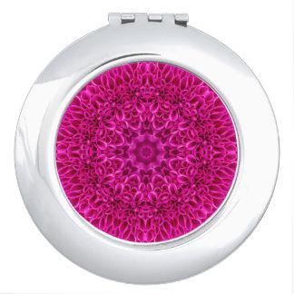 Espejo De Maquillaje Espejos rosados del acuerdo del modelo del vintage