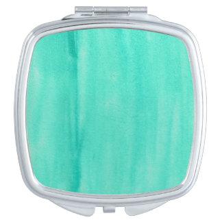 Espejo del acuerdo de la acuarela del trullo espejos compactos
