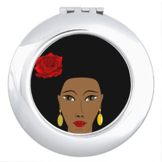 Espejo del acuerdo de la belleza del Afro