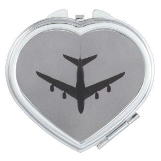 Espejo del acuerdo del corazón de los aviones