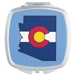 Espejo del acuerdo del esquema de Arizona de la Espejo Maquillaje