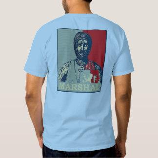 Espejo del mariscal de Guillermo de Shir rojo y Camisetas