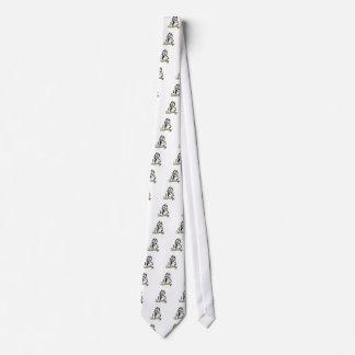 Espejo desafortunado corbatas