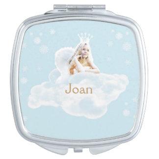 Espejo ideal del acuerdo del cuadrado del ángel espejos de maquillaje