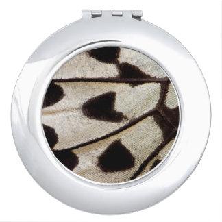 Espejo Maquillaje Modelo de la mariposa tropical