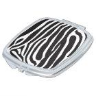 Espejo personal de Maquillaje Zebra