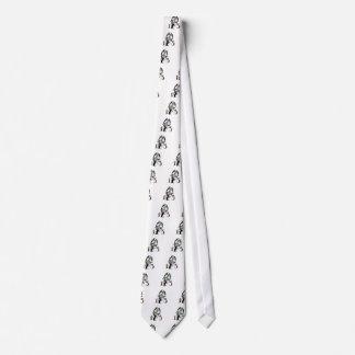 Espejo quebrado corbata personalizada
