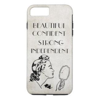 Espejo retro hermoso,… iPhone7 fuerte de la mujer Funda iPhone 7 Plus