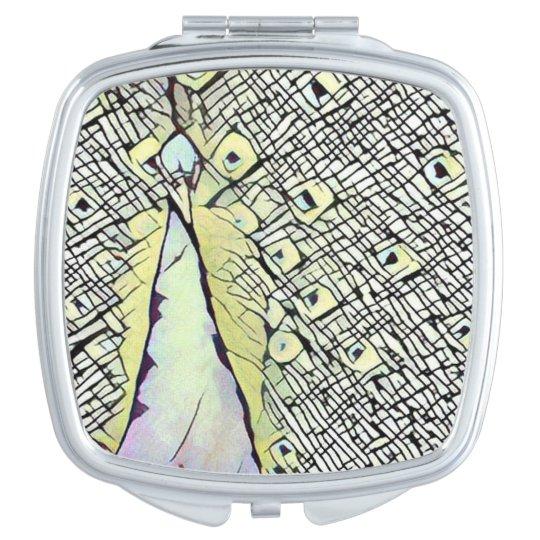 Espejo urbano del acuerdo del cuadrado del dise o espejos - Espejo de viaje ...
