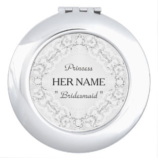 "Espejos De Maquillaje ""Dama de honor"