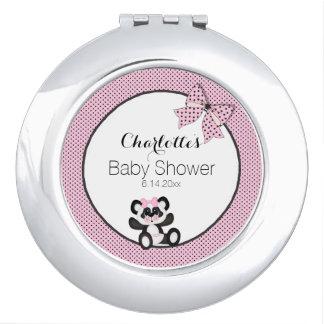 Espejos De Maquillaje Panda del bebé
