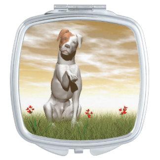 Espejos De Maquillaje Perro de los párrocos